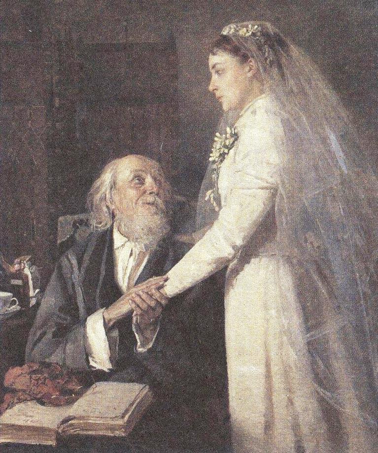 Владимир Маковский. К венцу. 1894