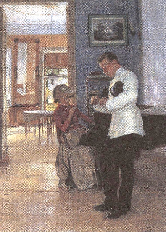 Владимир Маковский. Объяснение. 1889-1891