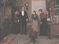 Владимир Маковский. Первый фрак. 1892