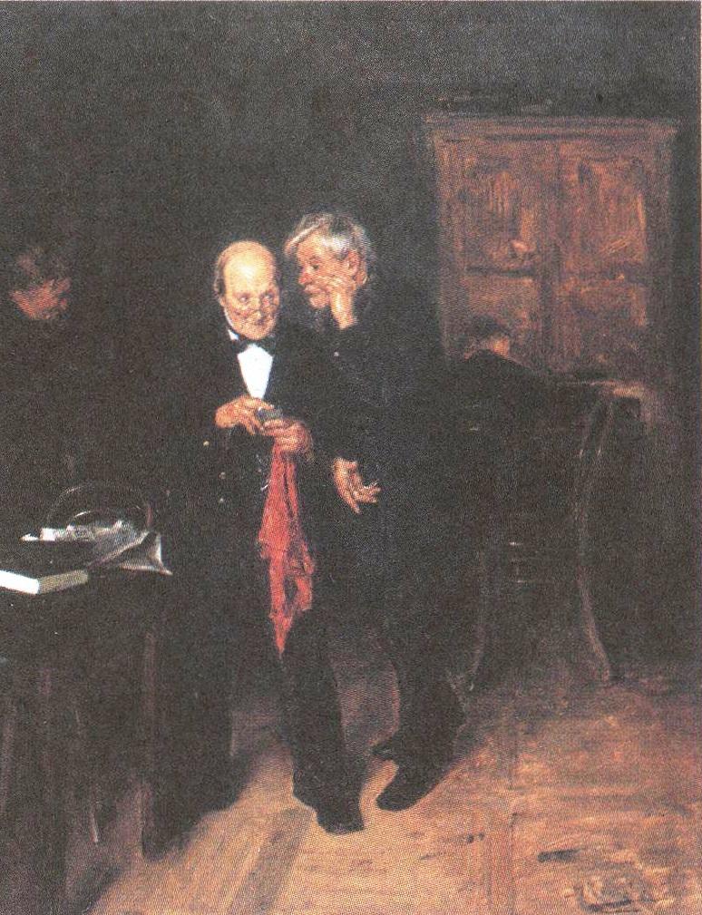 Владимир Маковский. Секрет. 1884