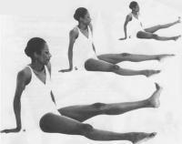 Вытягивание и укрепление всех мышц ног