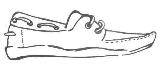 Яхтенные туфли