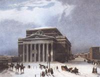 Жан-Батист Арну. Вид Большого театра