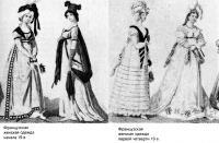 Женская одежда Франции XIX века