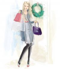 Зимний деловой наряд